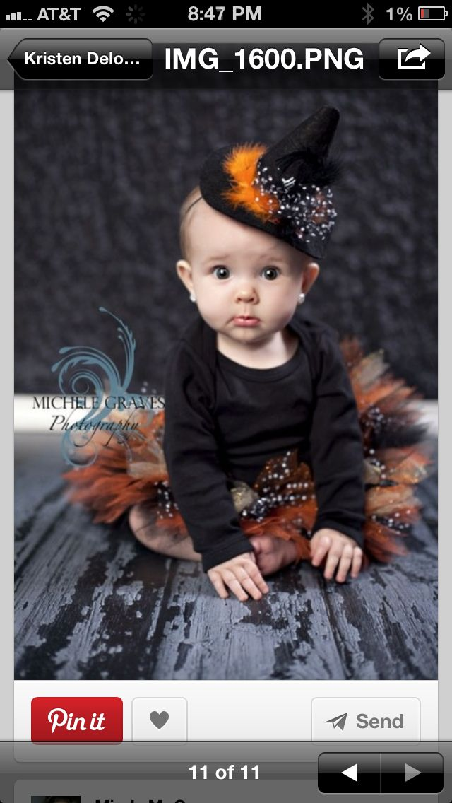 find this pin and more on halloween by pinstress5000 larainas first halloween outfit little witch costume - Baby Witch Costumes Halloween