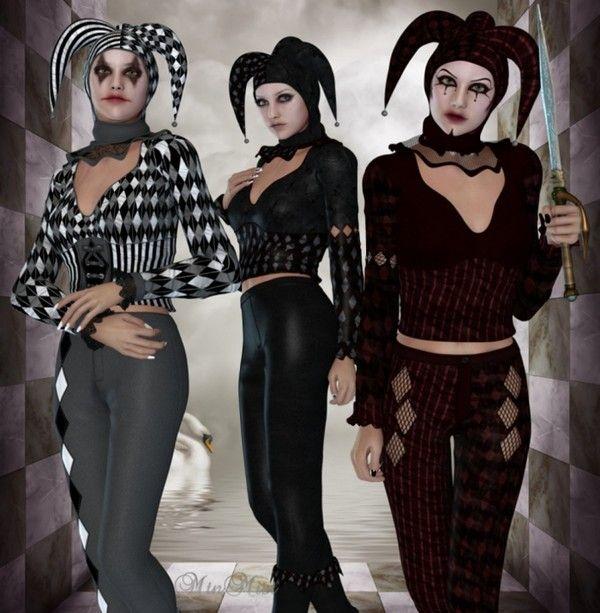 Joker / Arlequin / Pierrot   ARLEQUINES   Pinterest   Madi gras ...
