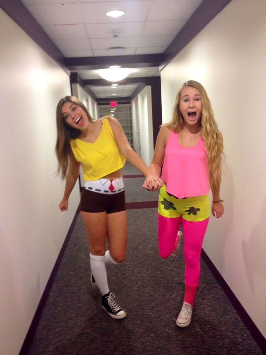 spongebob and patrick halloween costume   10/31   pinterest