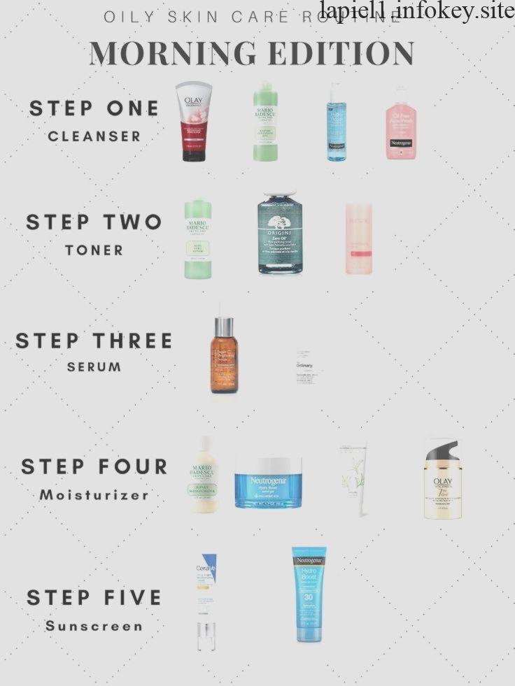 Morgen Fettige Hautpflege Schritt Fur Schritt Hautpflegeanleitung