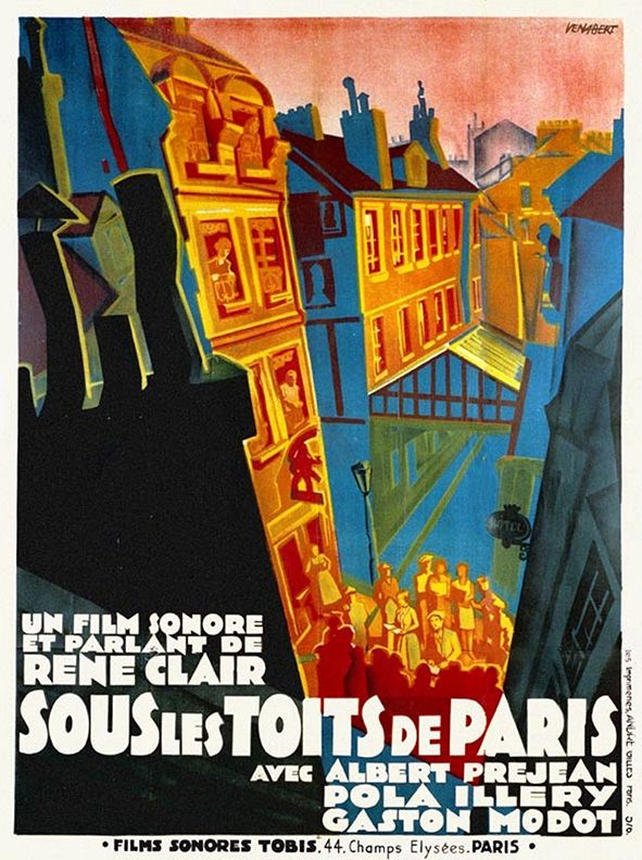 Movie Poster Of The Week Jean Gremillon S Remorques And The Posters Of The French Old Wave On Notebook Mu Paris Poster Movie Posters Vintage French Poster