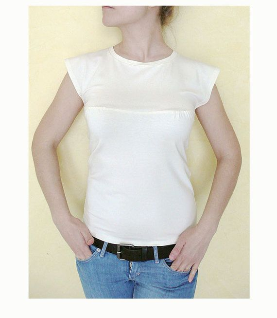 PDF Pattern Women\'s Summer Fitted Jersey Top/T-shirt by LAVitaly ...