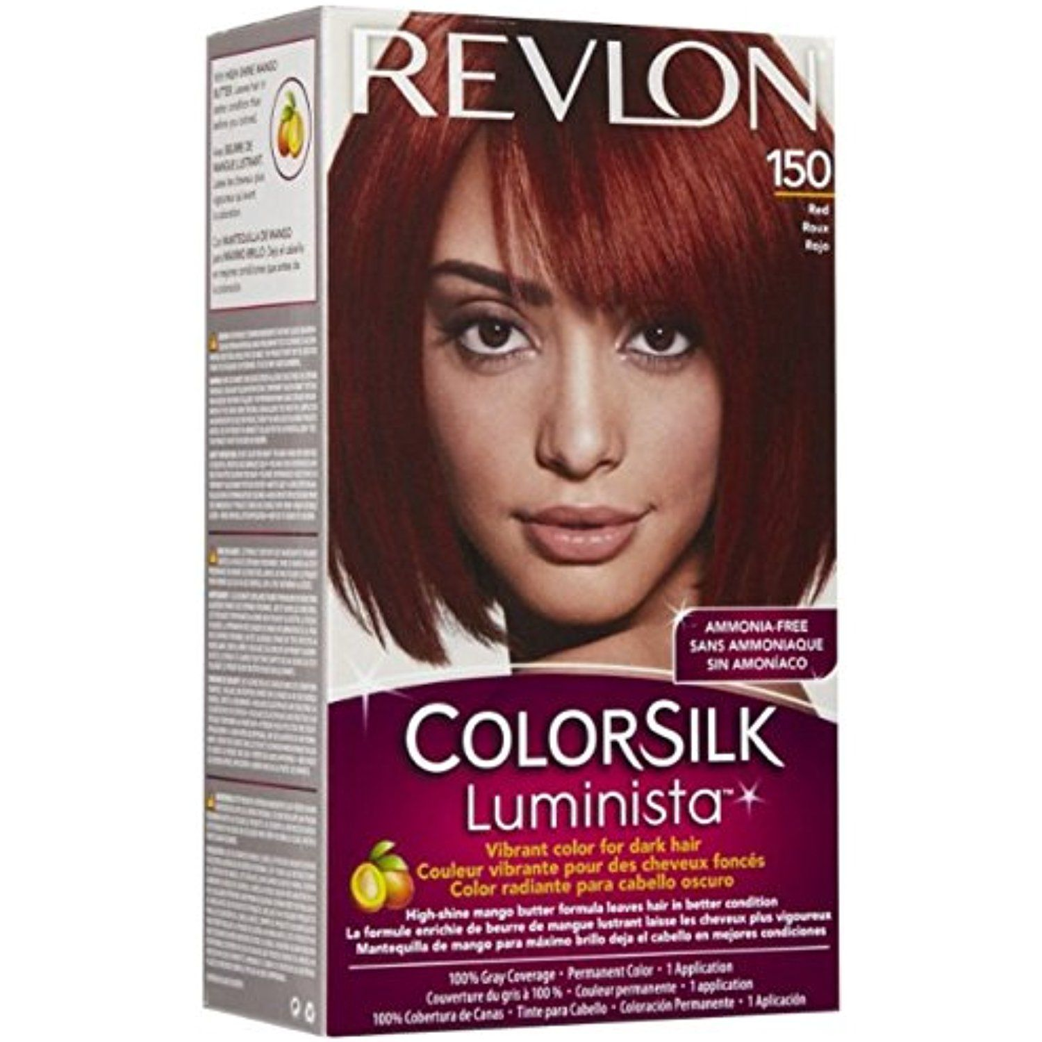 Revlon Colorsilk Luminista Hair Color 150 Red 1 Ea Pack Of 2