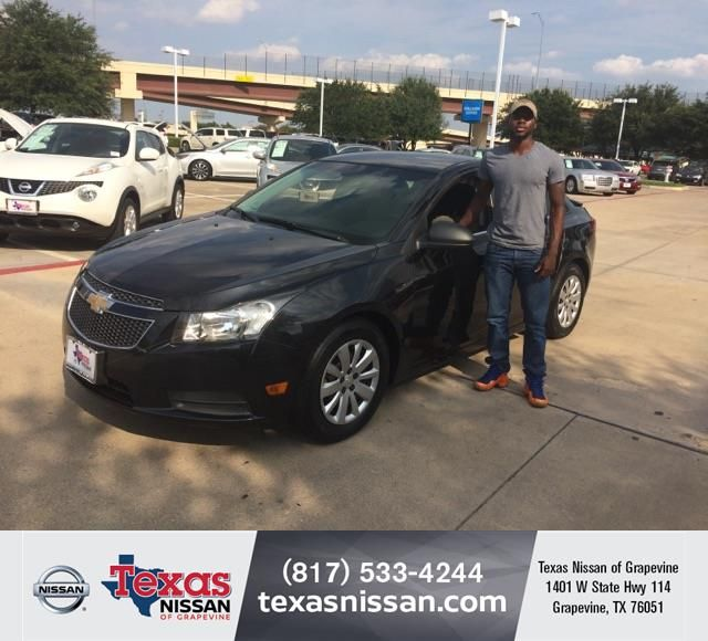 Happy Anniversary To Byron On Your Chevrolet Cruze From James