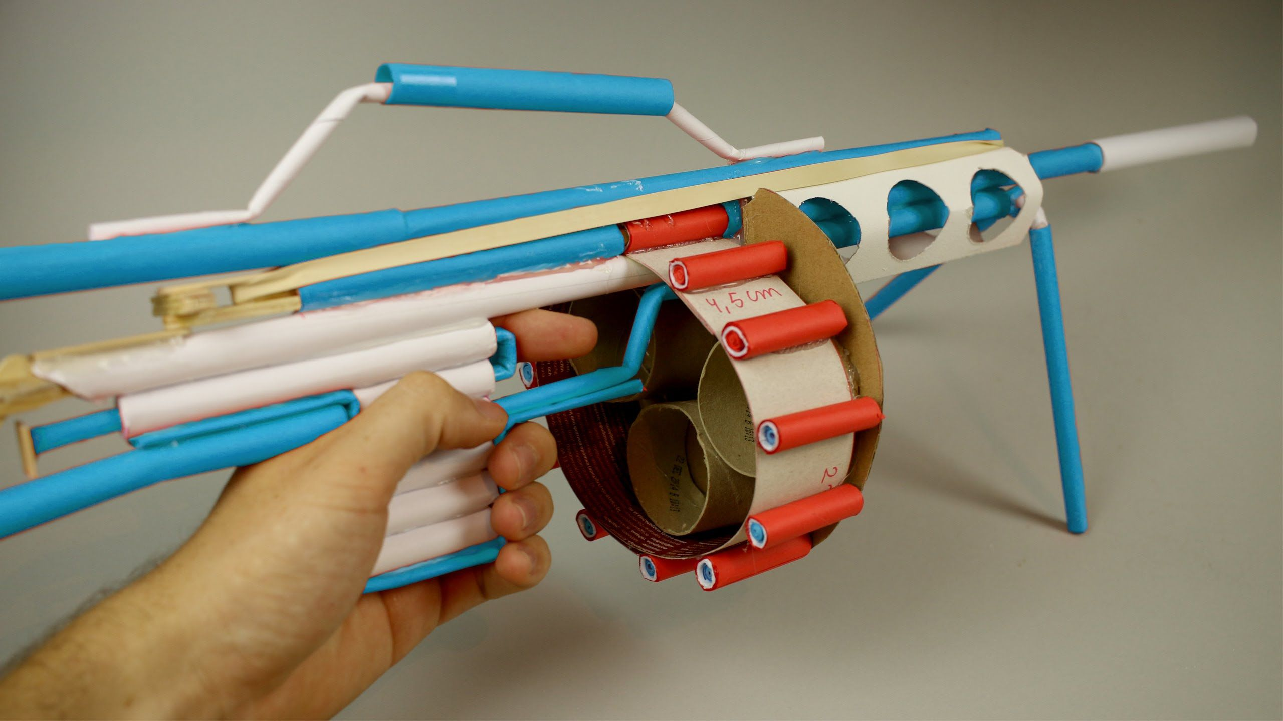Cool Machines To Build Learn How To Make A Machine Gun That Shoots Paper Using A