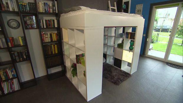 Do It Yourself Hochbett aus IKEA-Regal - Abenteuer Leben täglich - designer mobel bucherregal