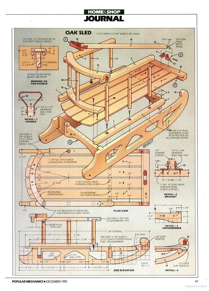 holzschlitten bauanleitung schlitten sled pinterest. Black Bedroom Furniture Sets. Home Design Ideas