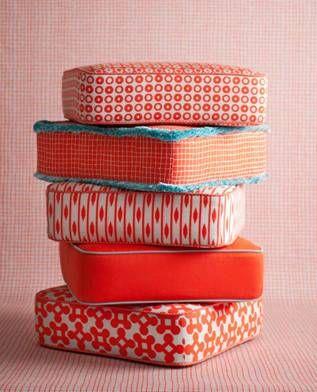 GET FRESH: NEW OUTDOOR FABRICS | Floor pillows, Pillows and Fabrics