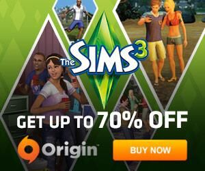 50-70% off on @TheSims 3 Base and EPs! 70% off Supernatural!! Go get it now, awesome EP!