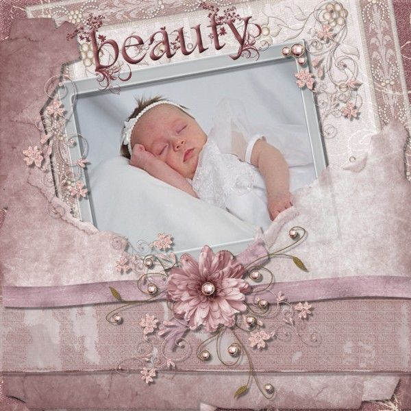 Blue Frame New Born New Baby Photo Picture Album Boy Girl Birthday Gift Pink