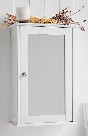 Mirror Wall Cabinet With Shelf 53x34x15 40