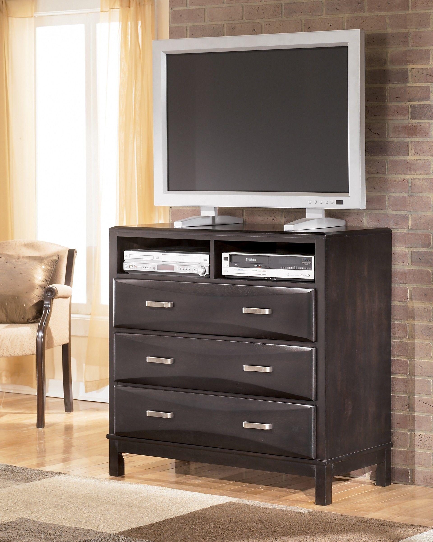 Ashley Furniture Kira B473 39 Media Chest Ashley Furniture Furniture Black Bedroom Furniture