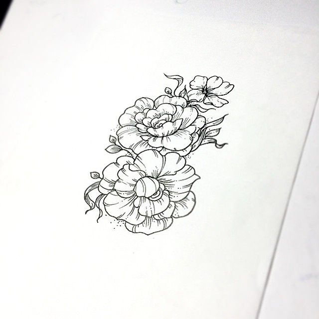 Flowers Are Unique Gorgeous Imperfect Real Colorful And Its One Kind Of Them For Everyone Out There Its That Tel Tattoos Flower Sleeve Flower Illustration