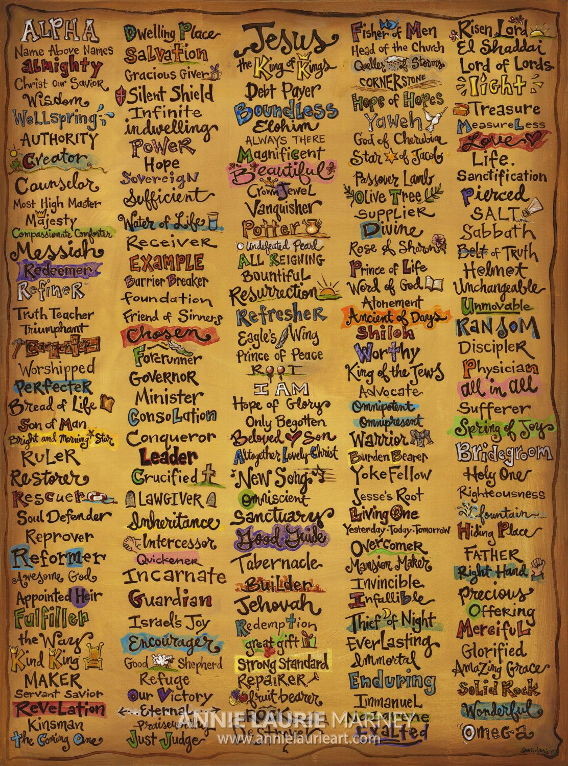 The names of our Lord | Jesus! <3 | Pinterest | Lord, Bible and ...