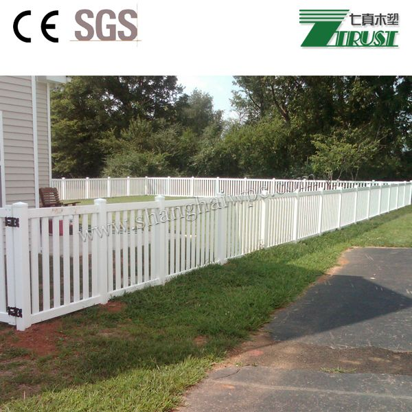Inexpensive And High Quality Pvc Fence Wpc Wood Plastic