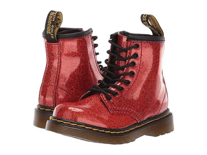 Toddler Dr Martens Kids Collection Baby Girls 1460 Glitter Stars Brooklee Boot Dr Martens Kid/'s Collection