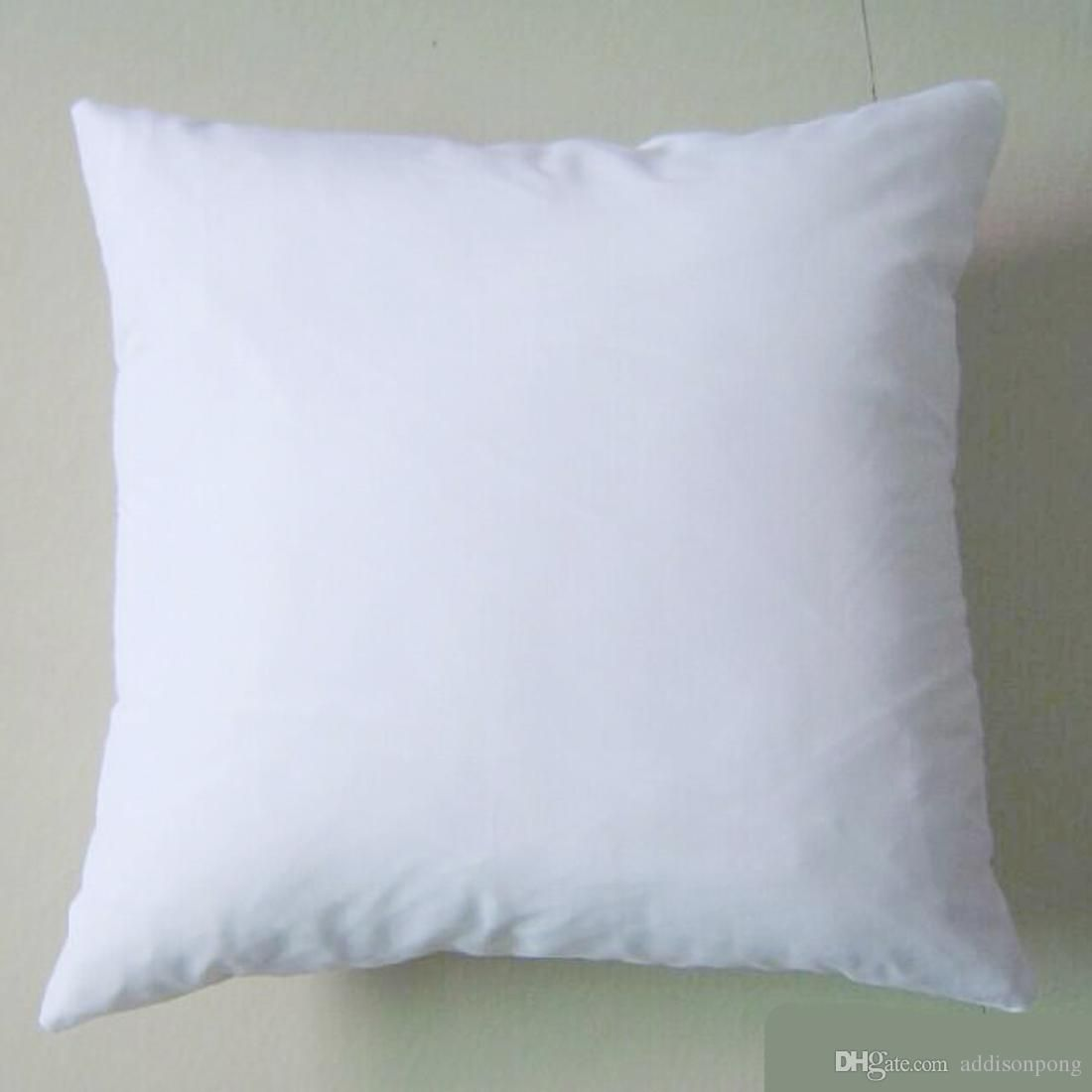 20pc plain white color 20GSM cotton canvas cushion cover with ...