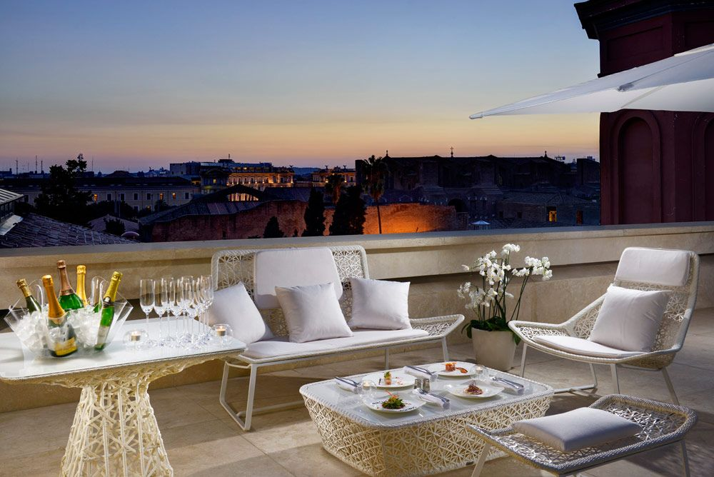 Rome Italy Garden Furniture Rome Hotels Furniture