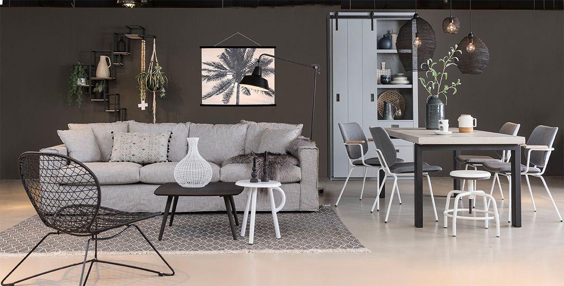 Cosy Grey Stijl Studio Seizoen 7 Eijerkamp Luxe Woonkamer Thuis Thuisdecoratie