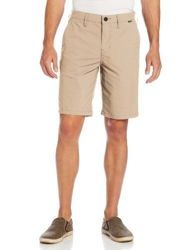 Hurley Men's Dri Fit Chino Walkshort, Khaki/Hurley, Nike Dri-FIT Technology  fabric for comfort, breathability and moisture management^Coin pocket and  back ...
