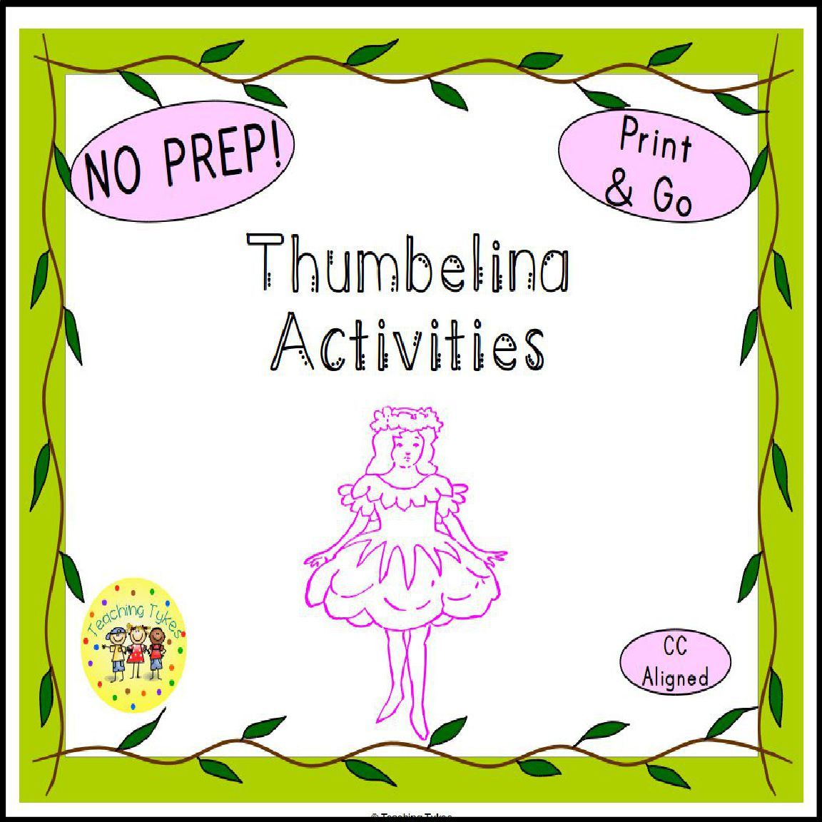 Thumbelina Activities | Fairy Tales Activities and Ideas ...