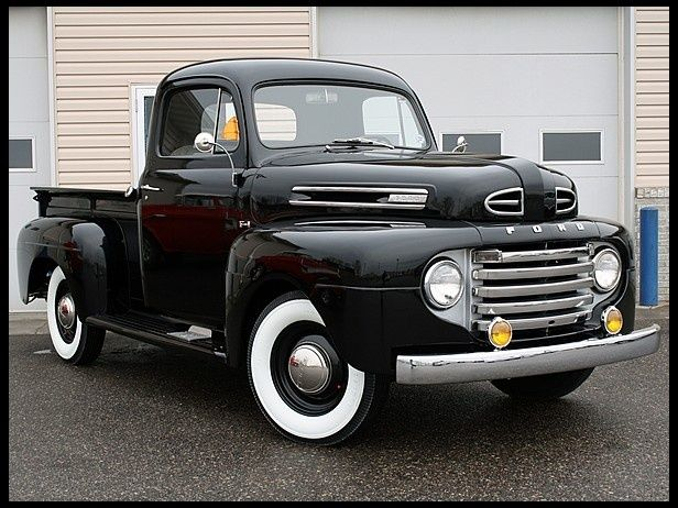 1950 Ford F1 Pickup Not A Ford Guy But I Have Got To Admit That S Pretty Sweet Ford Pickup Trucks 1951 Ford Truck Ford Trucks