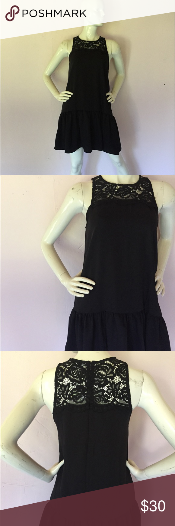 Black sleeveless dress #blacksleevelessdress