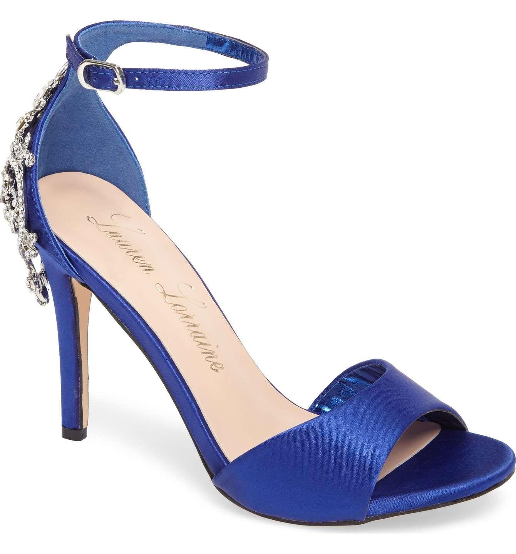 Lauren Lorraine Monet Ankle Strap Sandal (Women's) MFI1LC