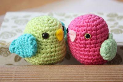 Amigurumi Bird Tutorial : Amigurumi patterns crochet tutorials handmade toys háčkování a