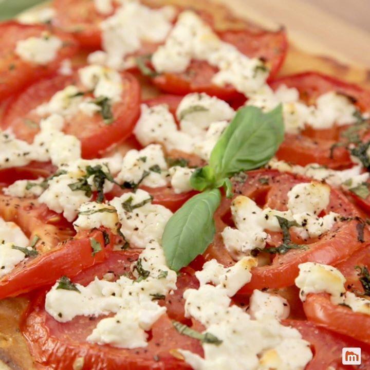 Recettes Tartes Salees Marmiton: Tarte à La Tomate Et Au Chèvre