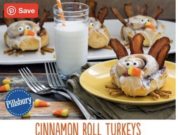 Best Cinnamon Roll Turkey Recipe - How to Make Cinnamon Roll Turkeys