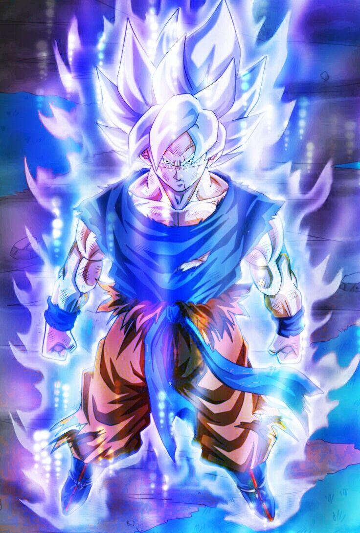 Goku Super Saiyan Ultra instinct   gatos   Dibujo de goku, Pantalla de goku y Fondos de pantalla ...