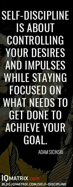 The Complete Guide On How To Develop Focused Self Discipline