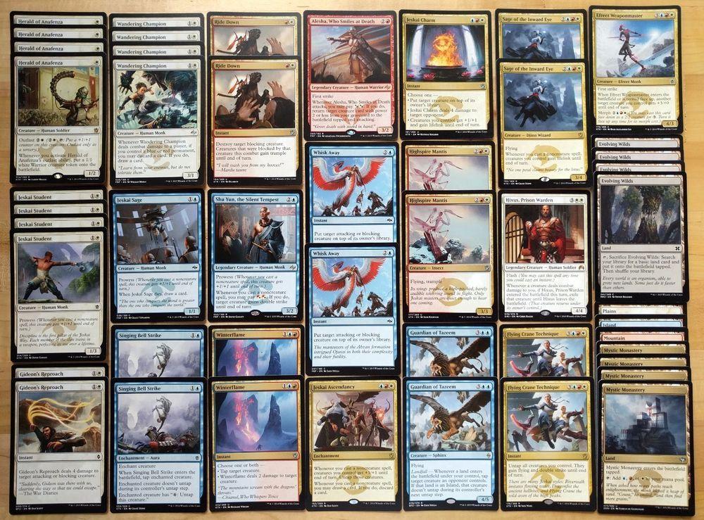 best magic cards in standard