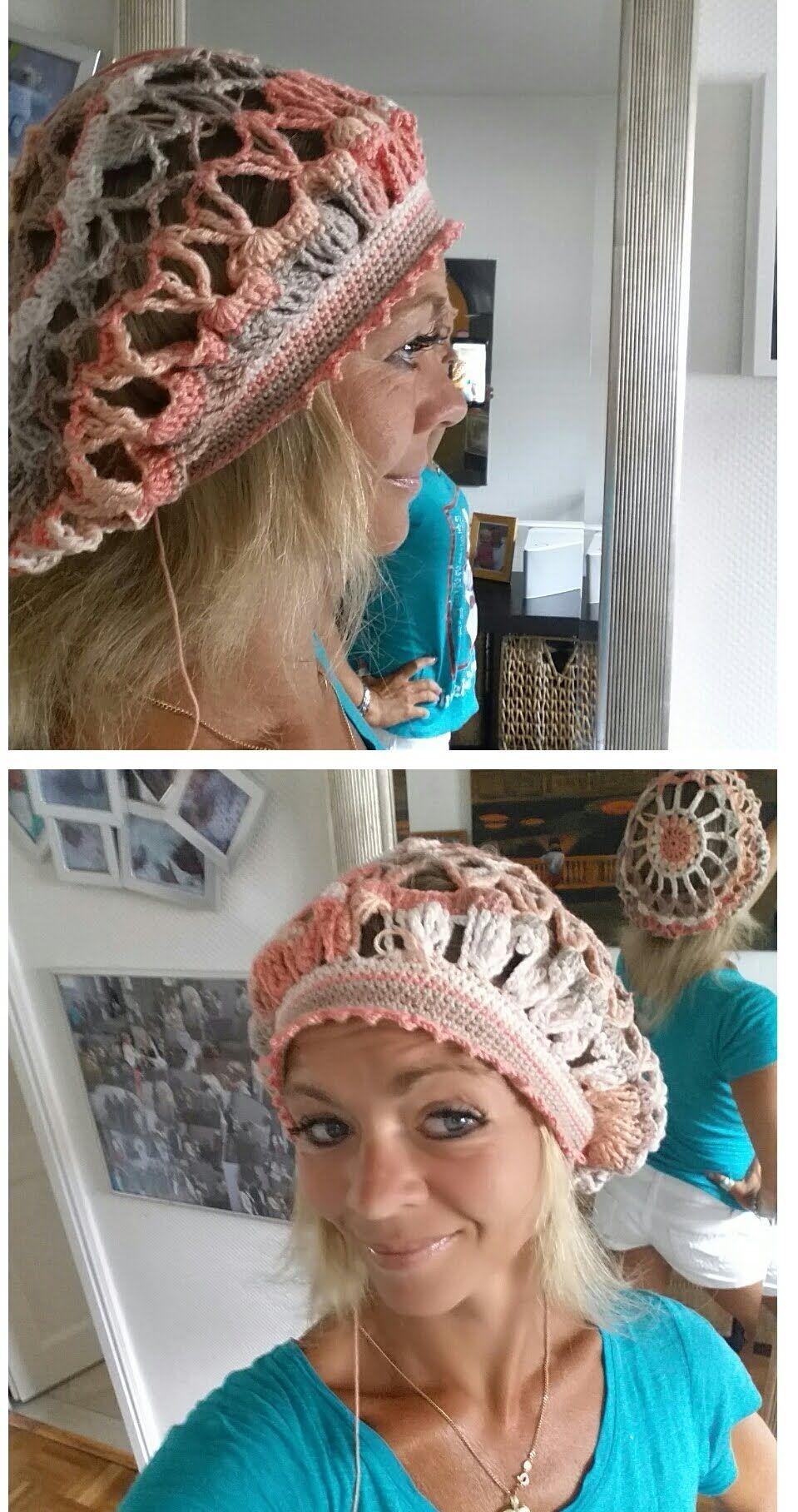 Sommermütze Ballon Susanne Balloon crochet hat# Häkeln mit Yve ...
