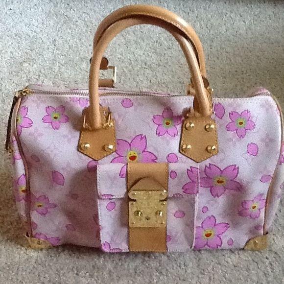 c0d5603f39ee LV cherry blossom speedy   Bags   Speedy 30, Louis vuitton, Cherry ...