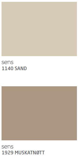 Sand Og Muskatntt Jotun Interir Pinterest