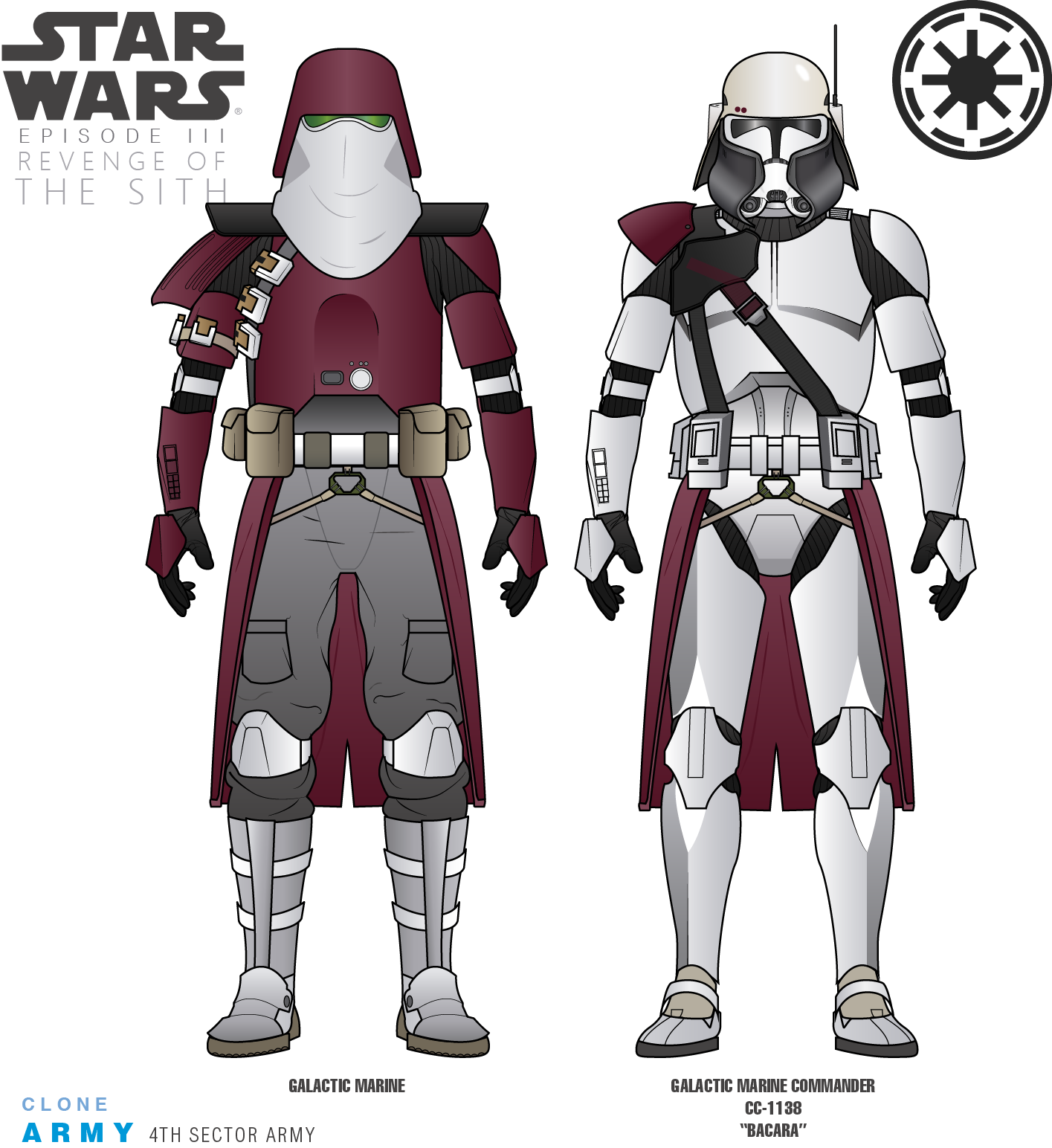 4th Sector Army Galactic Marines By Efrajoey1 Star Wars Outfits Star Wars Fandom Star Wars Clone Wars