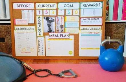 Weight Lost Challenge Tracker Health And Fitness 63+ New Ideas #fitness #weight