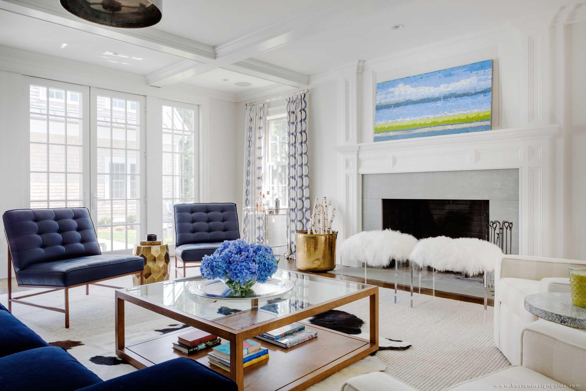 Lda Architecture & Interiors  Custom Interior Design In Cambridge Glamorous Living Room Boston Design Decorating Inspiration