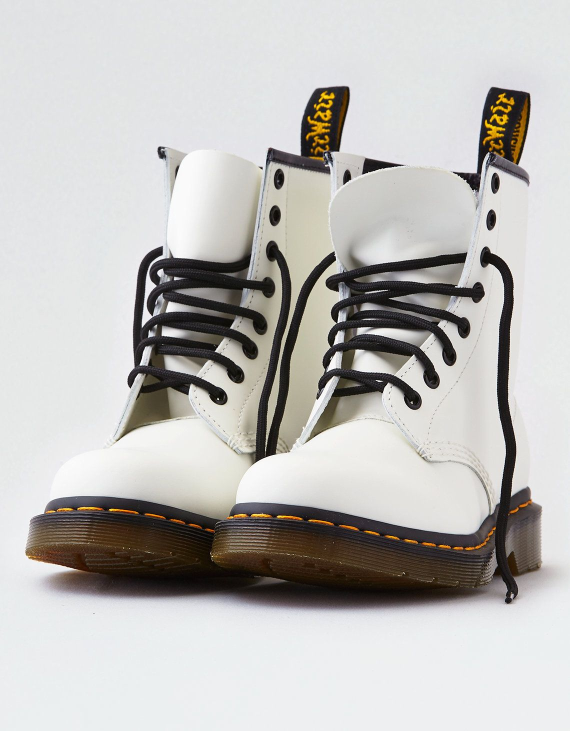 Dr. Martens 1460 Smooth Boot, White