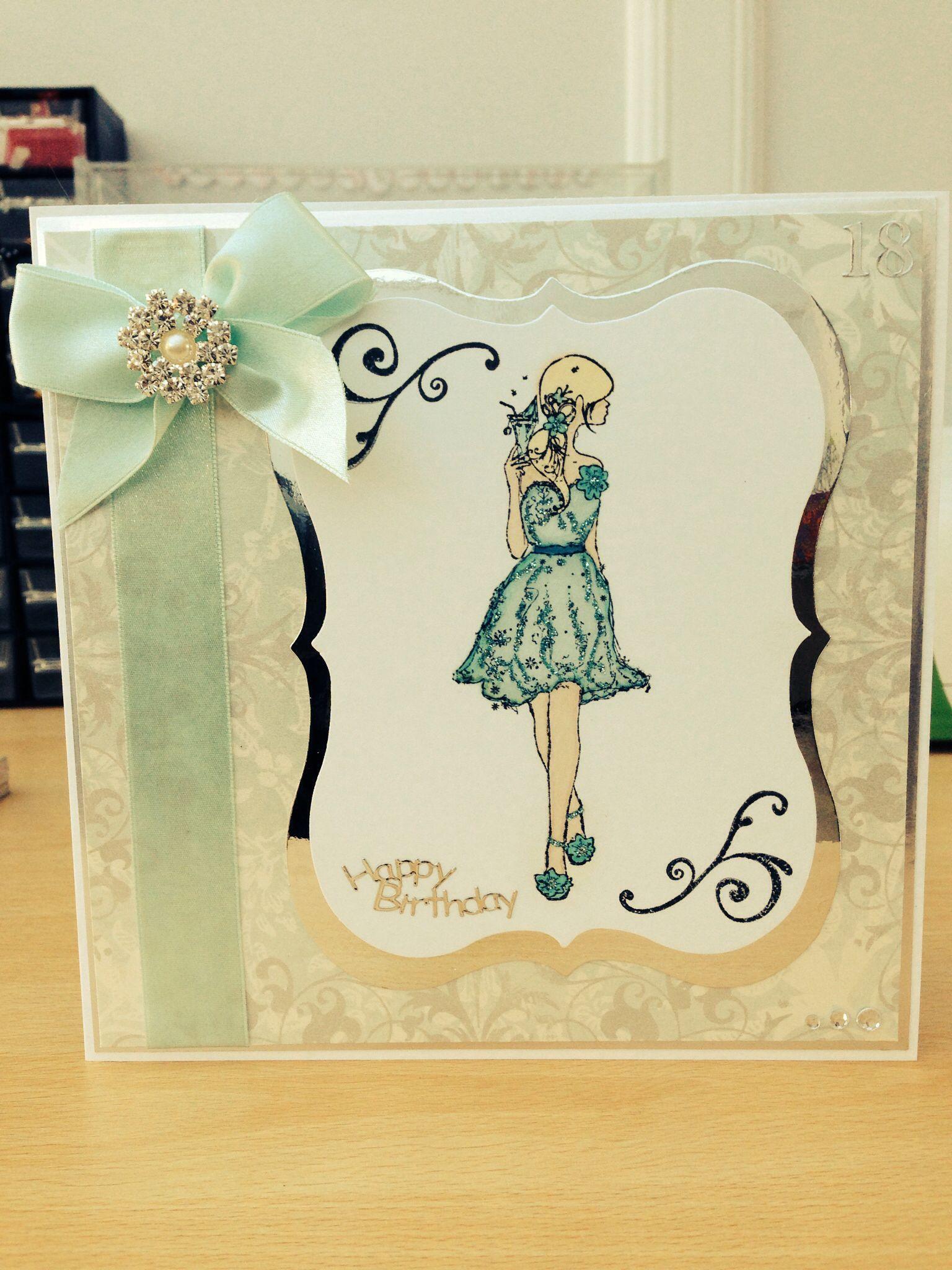 18th birthday card 18th birthday cards crafts birthday