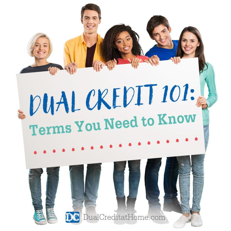 Dual credit 101 terms you need to know with images