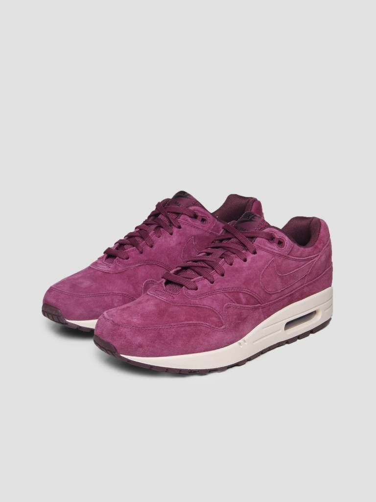 another chance 4bc1d cb4e5 Nike Air Max 1 Premium Shoe Bordeaux Bordeaux Desert Sand 875844-602 -  FRESHCOTTON
