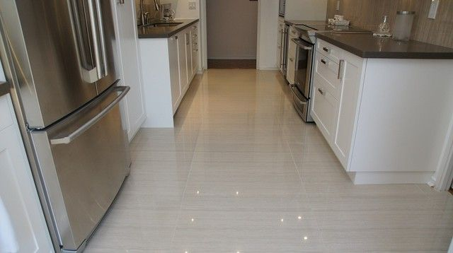 Kitchen these kitchen flooring ideas will make your for Great kitchen tile ideas