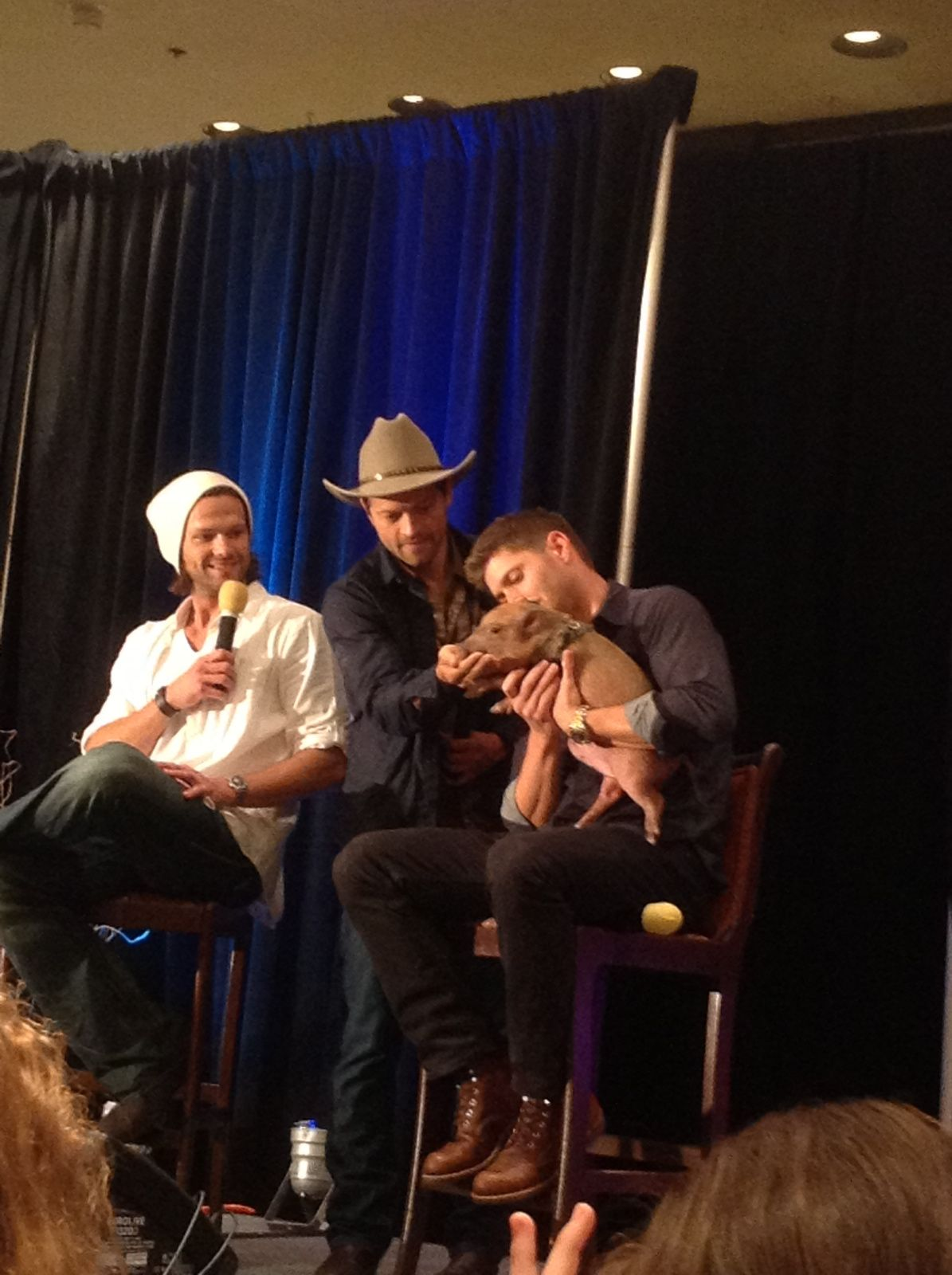Jared Padalecki At Dallascon A Few Meet And Greet Excerpts And