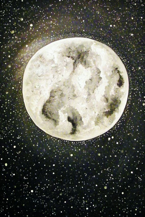 Lunar Muse by GlossyStones on Etsy, $25.00
