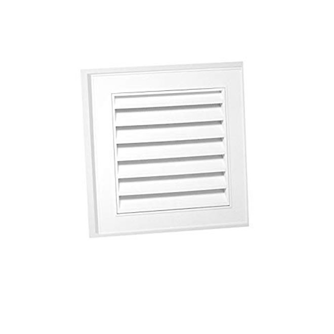 Duraflo Square Gable Vent 12 X 12 Plastic White 626043 00 Rona Gable Vents White Rona