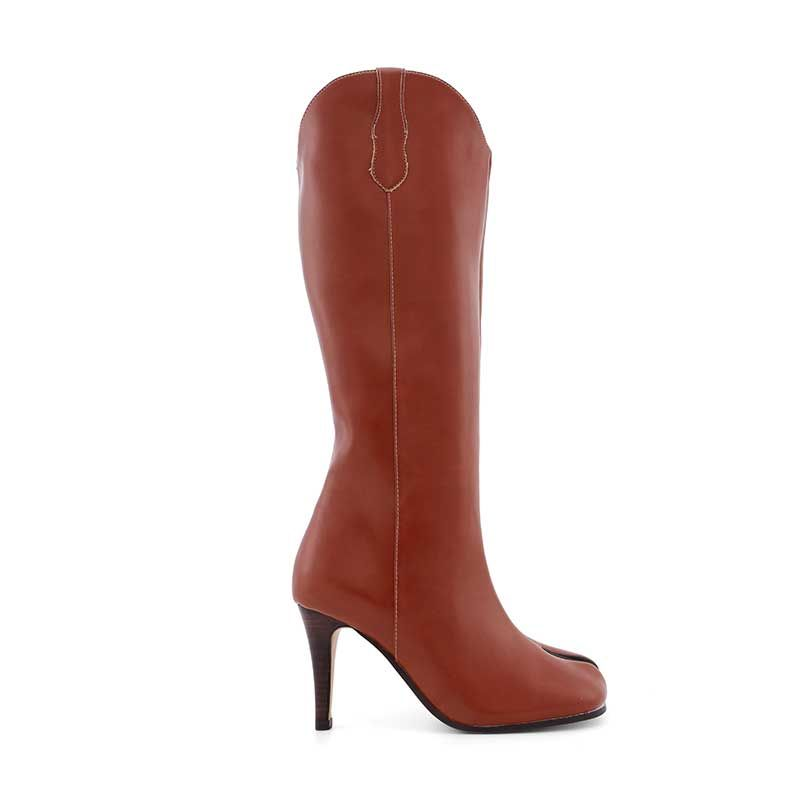 Spilt High Shop jessicabuurman GALES Leather Knee Toe Boots 4xgqw