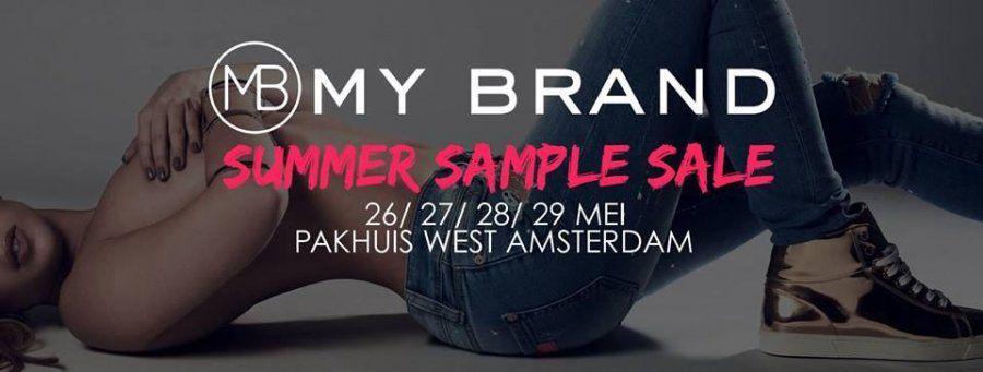 MY BRAND Summer Sample Sale -- Amsterdam -- 26/05-29/05